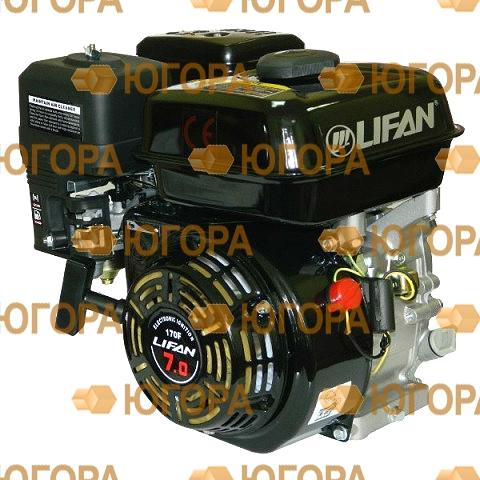 Двигатель Lifan 170FD-R, вал Ø20 мм, катушка 7 Ампер LIFAN